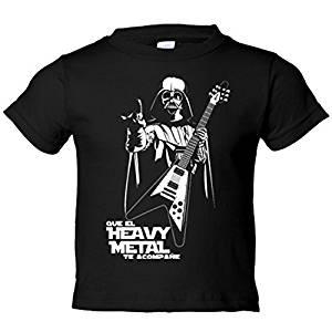 Camiseta niño Que el Heavy Metal te acompañe